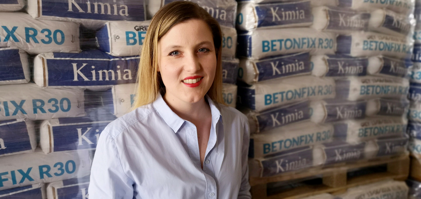 Eva Bisciotti, the new Managing Director of Kimia S.p.A.
