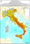 Italia: mappa del rischio sismico 2015