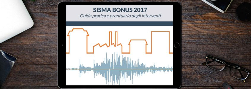 Sisma Bonus, prontuario degli interventi in pdf su tablet