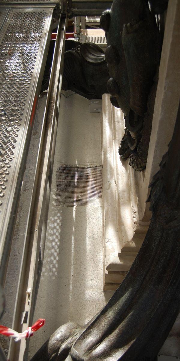 Impermeabilizzazione della Fontana del Nettuno a Bologna