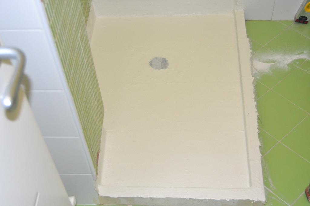 impermeabilizzazione della doccia