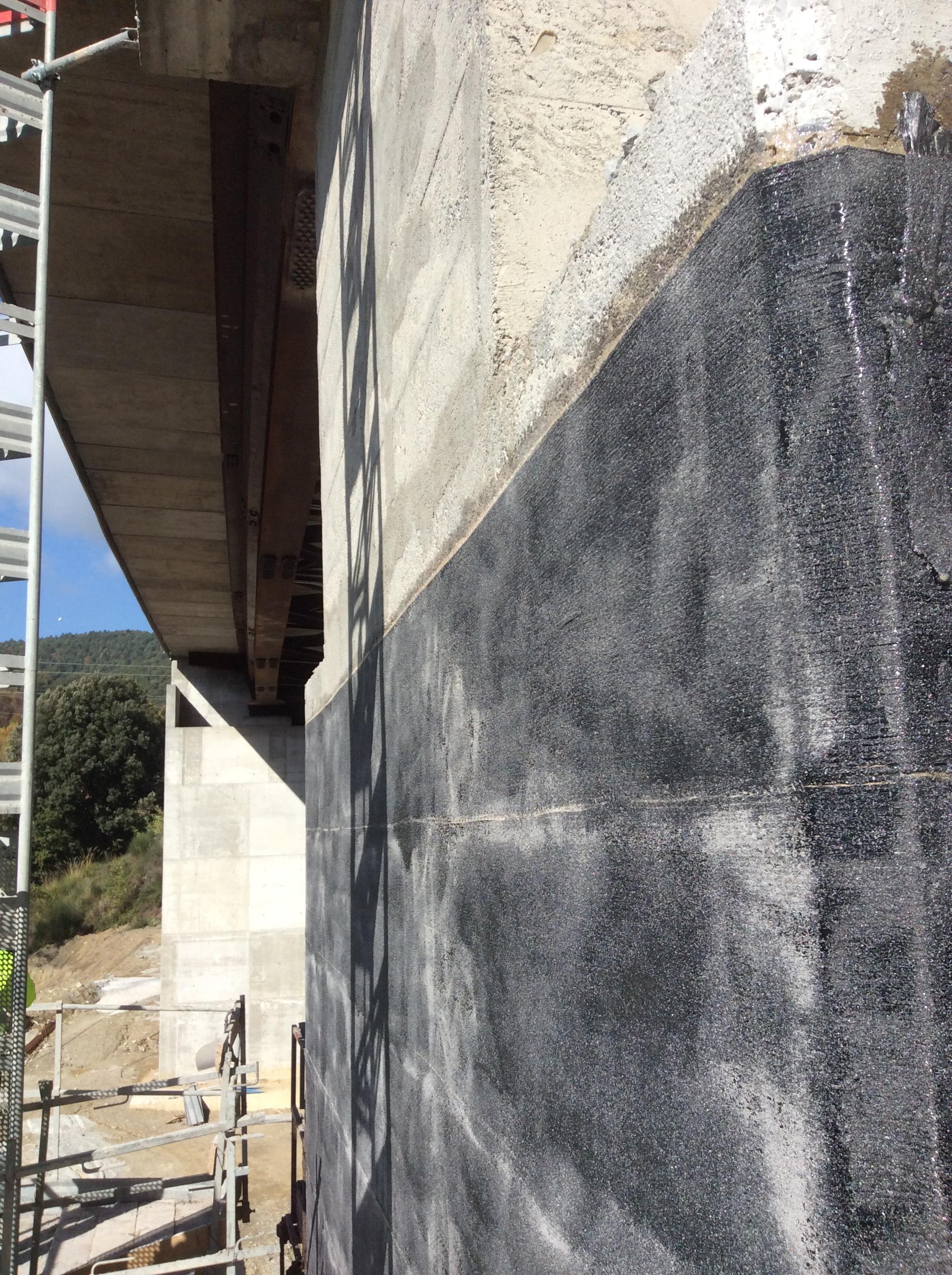 Viadotto Jannello, rinforzo in fibra di carbonio