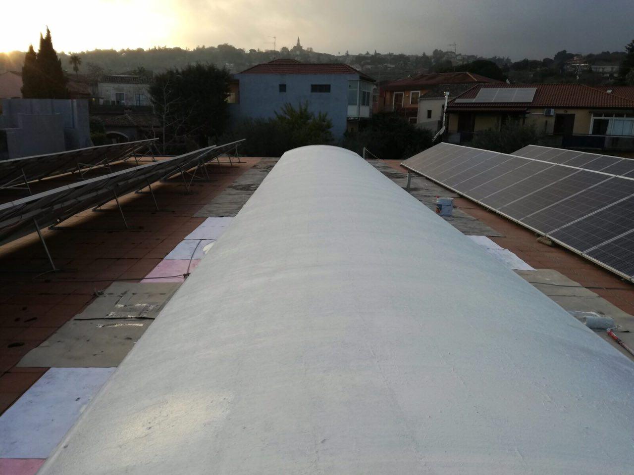 Impermeabilizzazione scuola G. Verga con Kimicover 601 P - foto 15