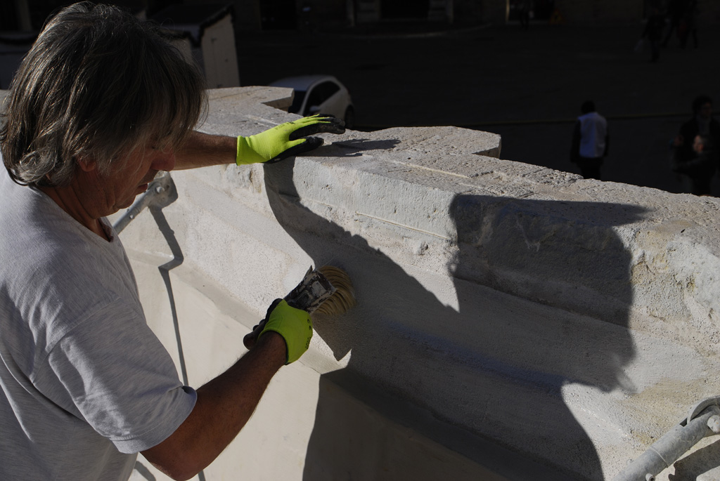 Waterproofing of the upper basin of the Fontana Maggiore - pic 7