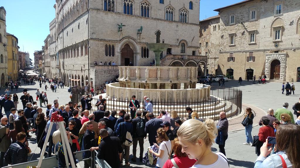 The Fontana Maggiore inauguration cerimony - pic 1