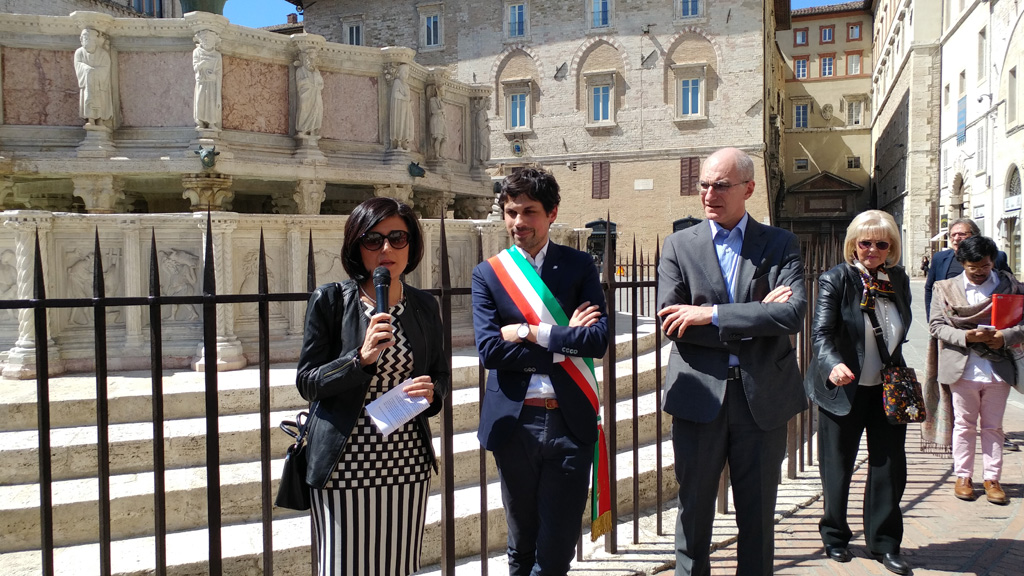 The Fontana Maggiore inauguration cerimony - pic 2
