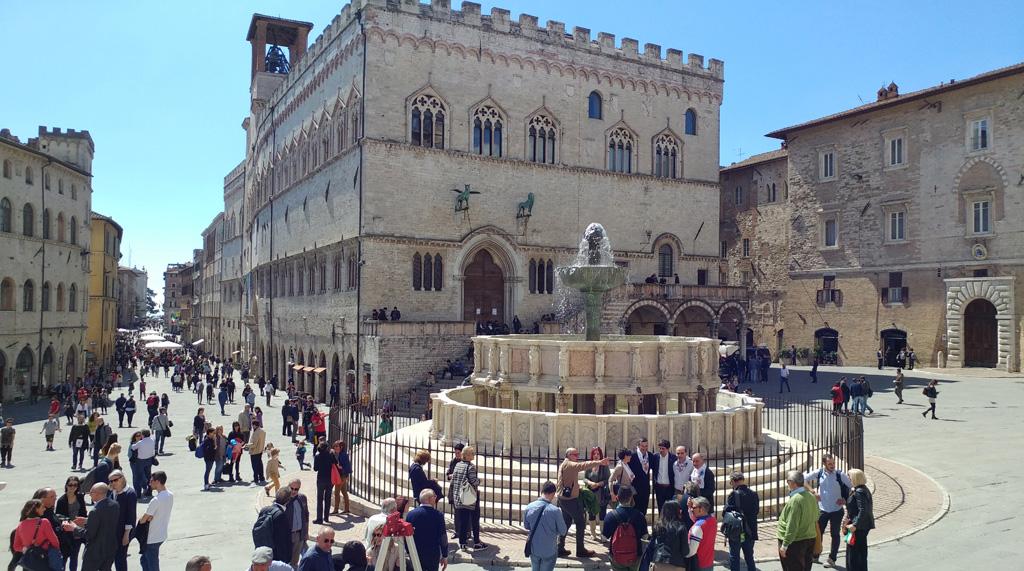 The Fontana Maggiore inauguration cerimony - pic 3