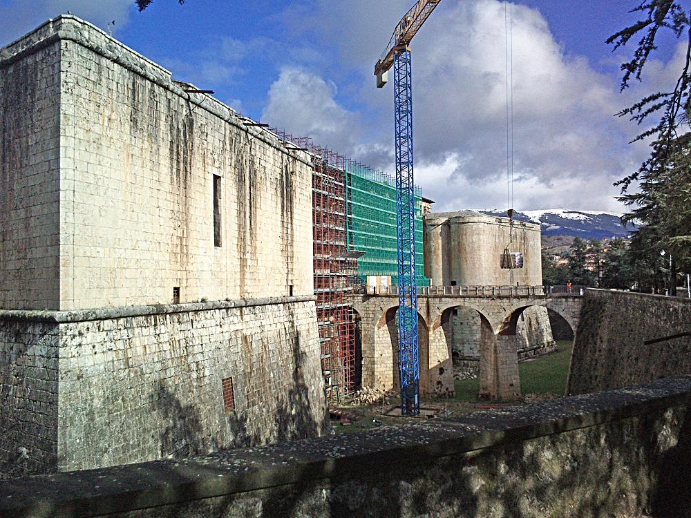 Castello Cinquecentesco (Forte Spagnolo), L'Aquila