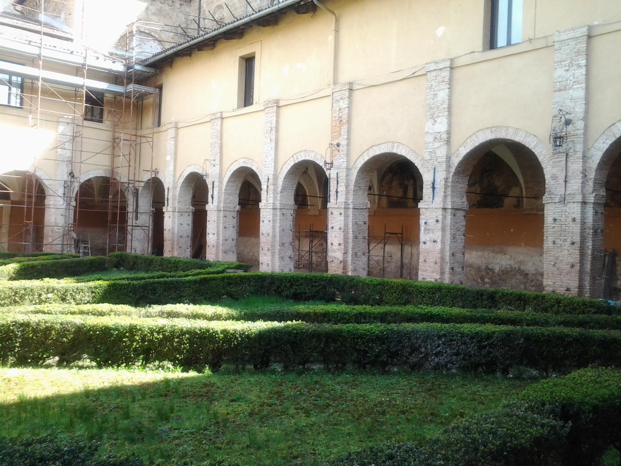 Chiostro della Chiesa di San Domenico, Rieti