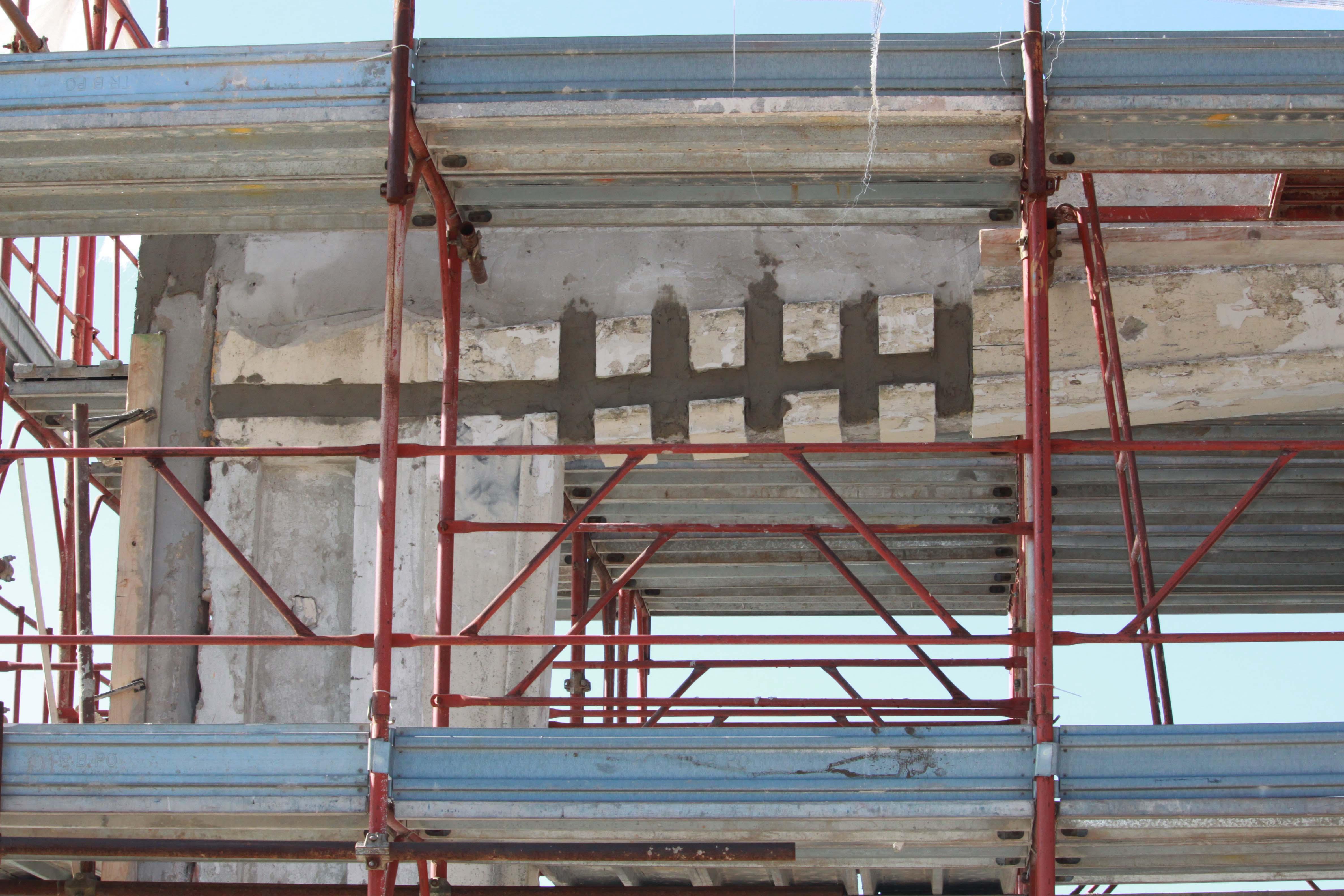 Intervento di ripristino e rinforzo del calcestruzzo: Lido Passignano sul Trasimeno