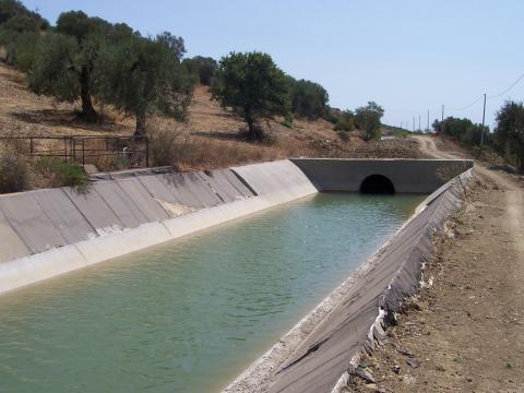 Canali irrigui, Montalbano Jonico (MT)