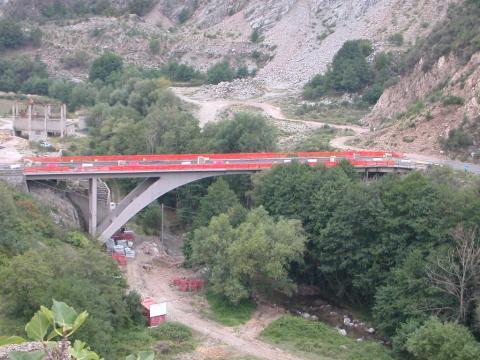 Ponte sul Fiume Arvo, Cosenza