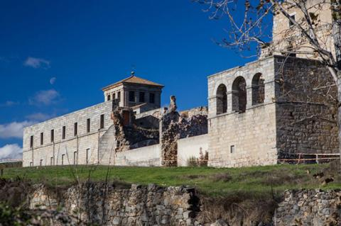 The Monastery of Santa Maria de Valdeiglesias, Madrid