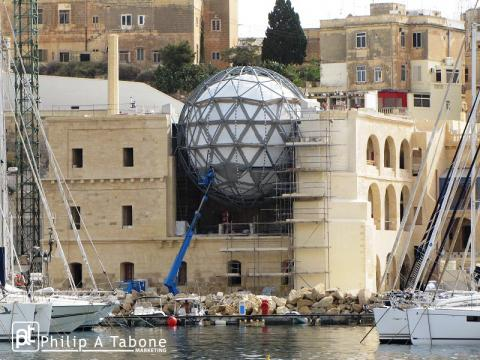 The renovation of Esplora, the Royal Naval Hospital Bighi