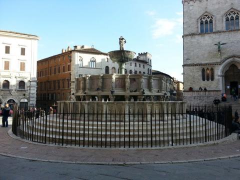 The Fontana Maggiore in Perugia