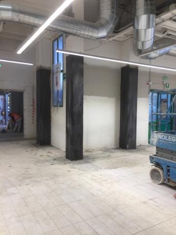 Coop ad Anzola dell'Emilia: consolidamento strutturale dei pilastri