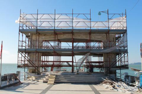Ripristino e rinforzo strutturale del Lido di Passignano